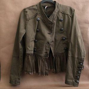 Free People | Style: Flared Hem Military Jacket